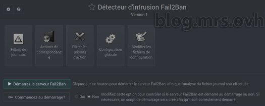 Webmin - Fail2Ban