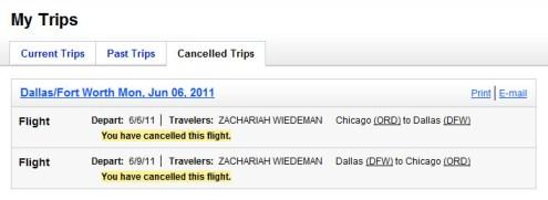 No, I DIDN'T cancel this flight