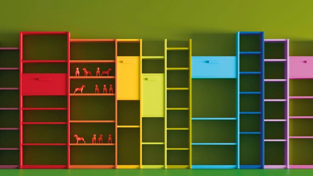 librería multicolor JJP