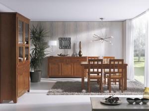 aparador y vitrina siguen llenando ambientes en todos los estilos. Indufex.