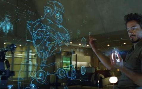 Proyectar y manipular imágenes 3D va a dejar de ser ciencia Ficción.
