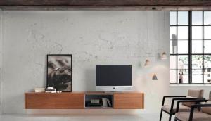 aparador colgado mueble tv, muebles modernos, muebles loyra