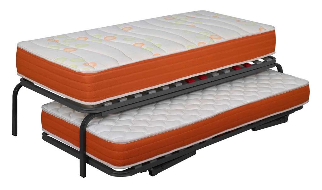 Las camas consejos para amueblar juveniles iii blog - Camas con cama debajo ...