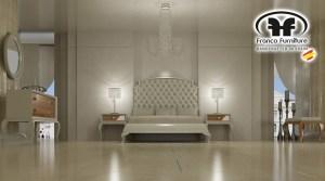 Cabezal de la colección Fenix de F.Franco Furniture