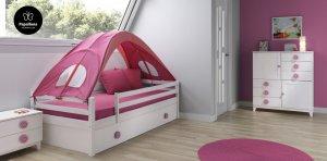 Hasta la cama nido más simple es una fantasía en Papallona.