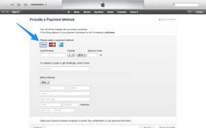 Membuat Apple ID harus memiliki Kartu Kredit