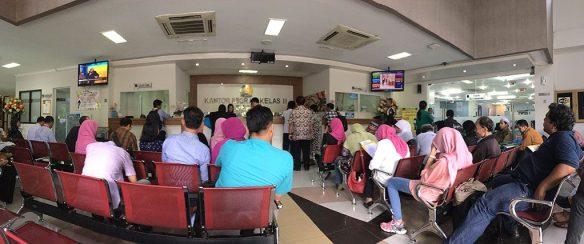 Suasana Ruang Tunggu Kantor Imigrasi Depok
