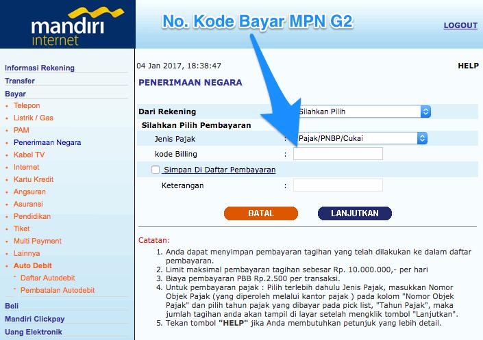 pembayaran-pelayanan-paspor-online-via-e-banking-bank-mandiri-2