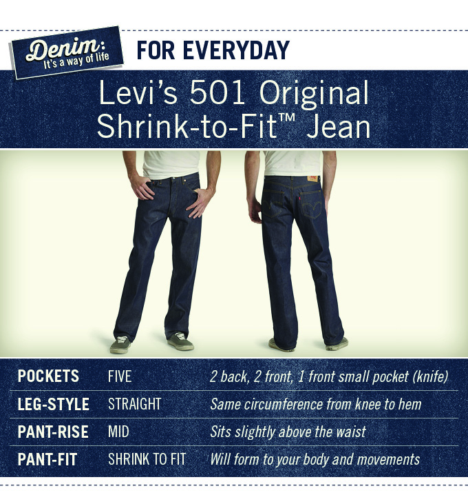 Levis 501 STF