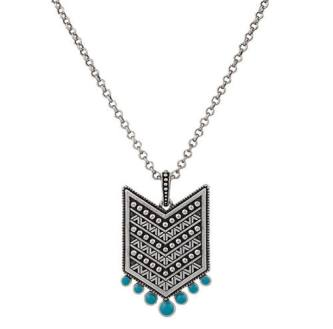 Rock 47 Aztec Pendant Necklace