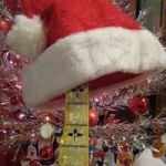 Santa Hat on Banjo