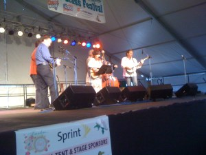 The Lynn Morris Band on Stage