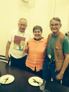 My dining hall pals, Dennis and Bill