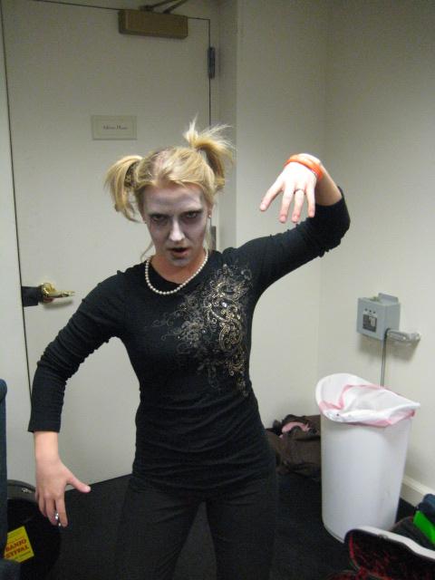 Zombie Rachel Johnson