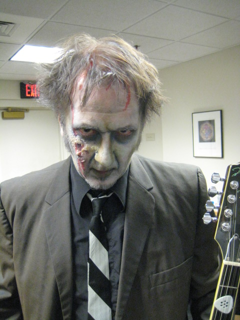 Zombie Buddy Woodward (who we thank profusely for the awesome makeup!)