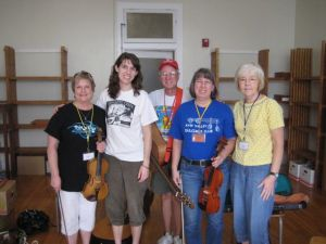 Fiddle/Guitar 101: Roxanne, Casey, Jack, Deb, Louvenia