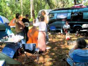 Folk Festival Picking