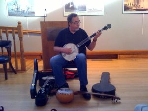 Tony Trischka at the Randolph County Center for the Arts