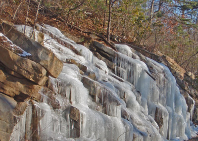Winter in Virginia.