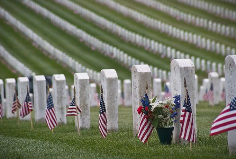 Thank you to all who served - Memorial Day Arlington