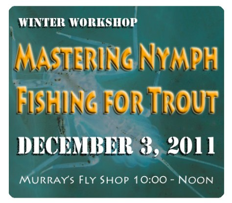 Winter Workshop: Mastering Nymph Fly Fishing for Trout