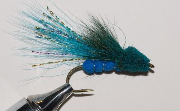 New Murray's Bass Blue Damselfly Dry Fly