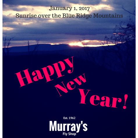 Happy New Year 2017 from Murray's Fly Shop