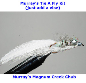 Murray's Magnum Creek Chub Fly Tying Kit.
