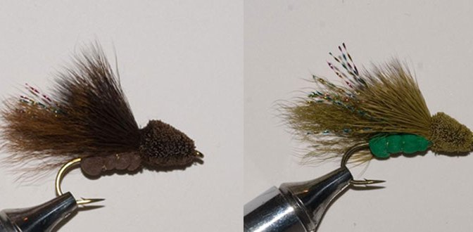 NEW Murray's Bass Dragonfly Dry (Brown & Olive)