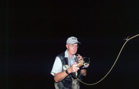 Harry Murray Night Smallmouth Bass Fly Fishing Murray's Fly Shop VA