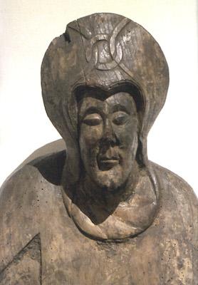 Maria (detall), Davallament de Durro, segona meitat del s. XII, Museu Nacional d'Art de Catalunya