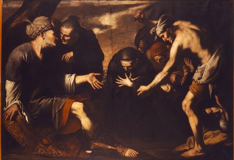 Mestre de l'Anunci als Pastors (Joan Do?), Martiri de Sant Plàcid i companys, 1625-1635, Museu de Montserrat.
