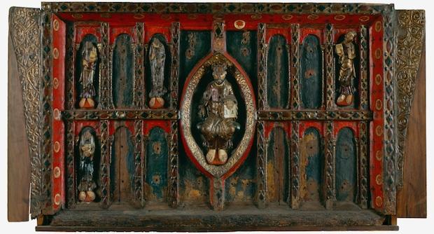 Frontal d'altar de Sant Pere de Ripoll, mitjan s. XII, Museu Episcopal de Vic
