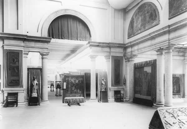 Museografia del Museu d'Arte i Arqueologia al Parc de la Ciutadella, 1915.