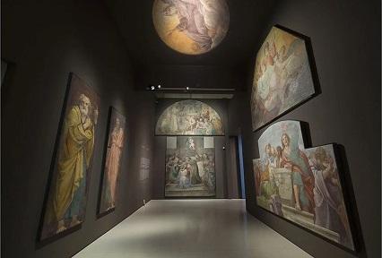Annibale Carracci, Pintures murals de la Capella Herrera