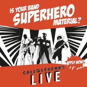 """Shure startet Bandwettbewerb """"Call for Legends - Live"""""""