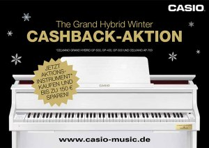 Casio Cashback Aktion