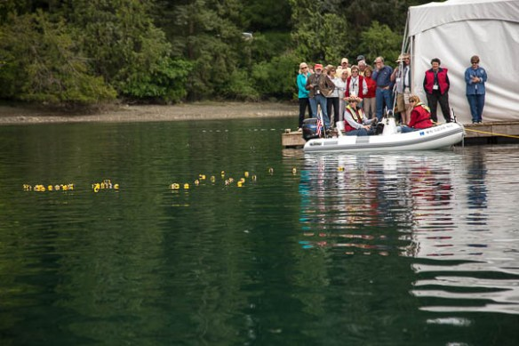 Archimedes Grand Banks Rendezvous rubber duck race