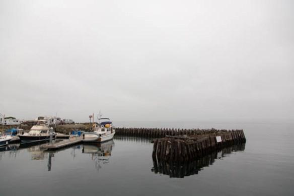 mv Archimedes at Point Hudson Marina 1