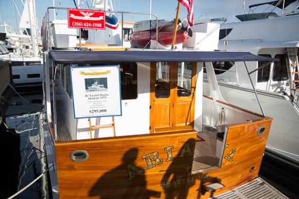 mv Archimedes Seattle Boat Show Arianna Stern