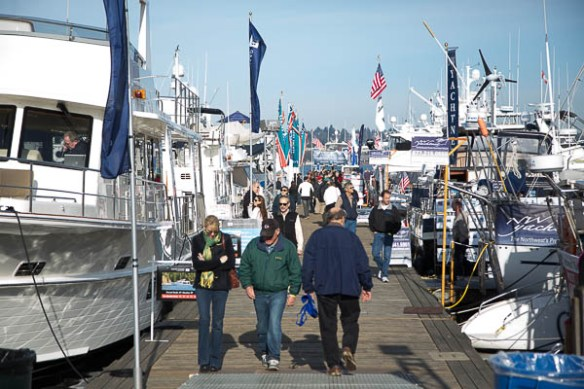 mv Archimedes Seattle Boat Show Lake Union 2