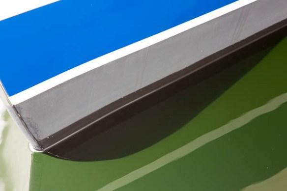 mv Archimedes new bottom paint bow