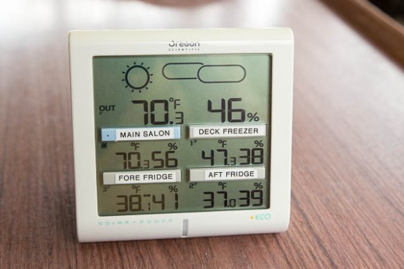 mv Archimedes fridge monitor