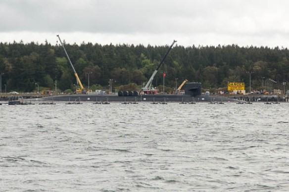 mv Archimedes submarine at Indian Island