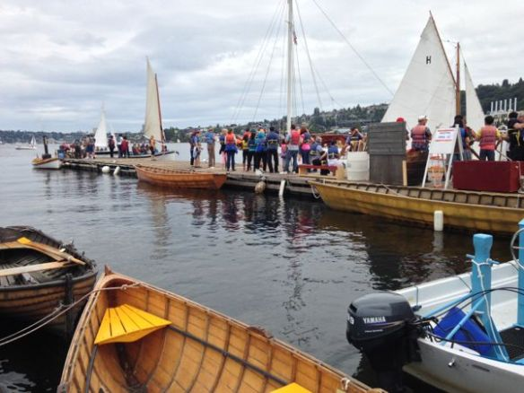 mv Archimedes CWB 38 Wooden Boat Festival 2