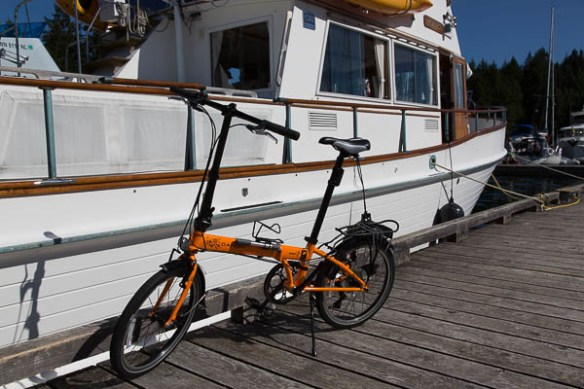 mv Archimedes new Dahon folding bikes