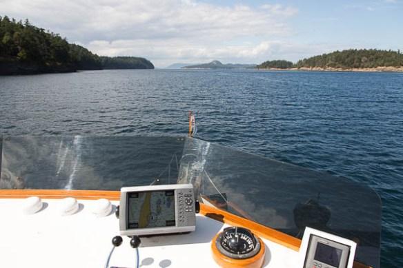 mv Archimedes north side of Speiden Island