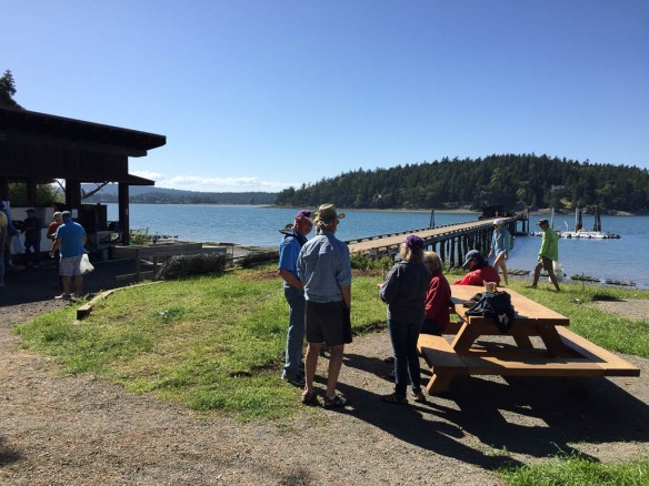 mv Archimedes Grand Banks rendezvous Oyster excursion