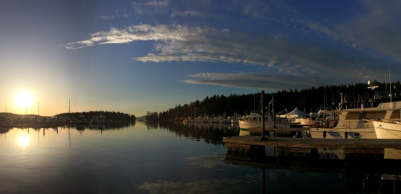 mv Archimedes Grand Banks rendezvous at Roche Harbor