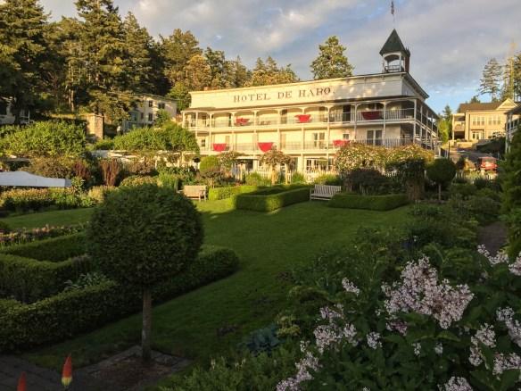 mv Archimedes Roche Harbor Hotel De Haro